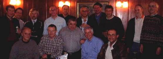 First gathering 17/01/2002 Wildman, Golding, Meaden, Parsons, Williams, Grossman, Kinsella, Packman, Fairnington,Garthwaite Damonte,Larkin,Hall,Payne and Ross